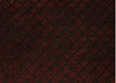 Ковролин грязезащитный клетка темно-красный