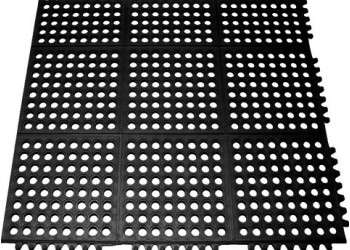 Коврик резиновый Ресторан Мат 900х900х12мм